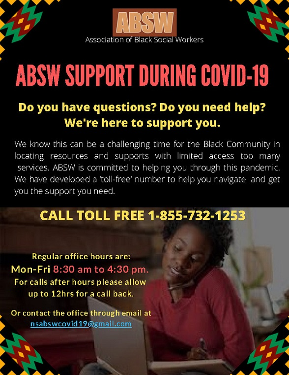 ABSW Support During COVID-19