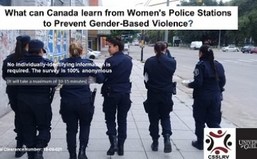 Survey: What can Canada Learn from Women's Police Stations to Prevent Gender-Based Violence?