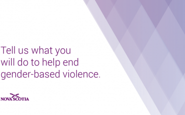 Tell us what you will do to prevent gender-based violence